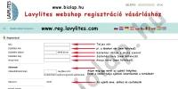 lavylites regisztráció segédlet